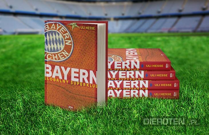 Twoje imię i nazwisko na okładce książki o Bayernie!