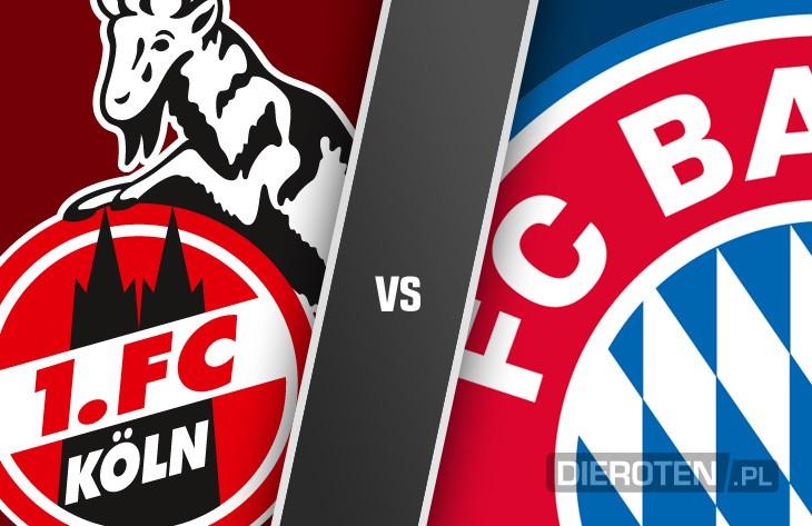 Misja 3 punkty: Bayern z wizytą w Kolonii