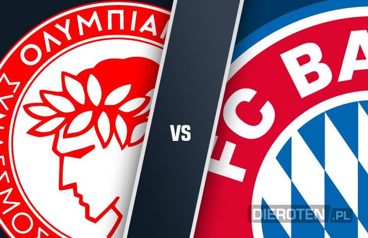 Grecka przeprawa: Bayern jedzie do Pireusu