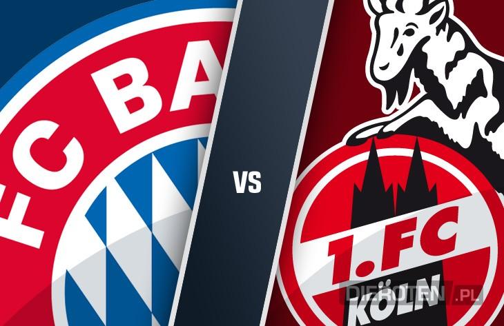 Odzyskać twarz w Bundeslidze: Bayern podejmuje Kolonię